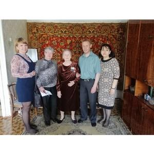 Сотрудники Управления Росреестра поздравили ветеранов ВОВ с Днем Победы