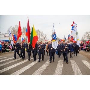 Празднование Дня Победы прошло в горняцких поселках при поддержке СУЭК