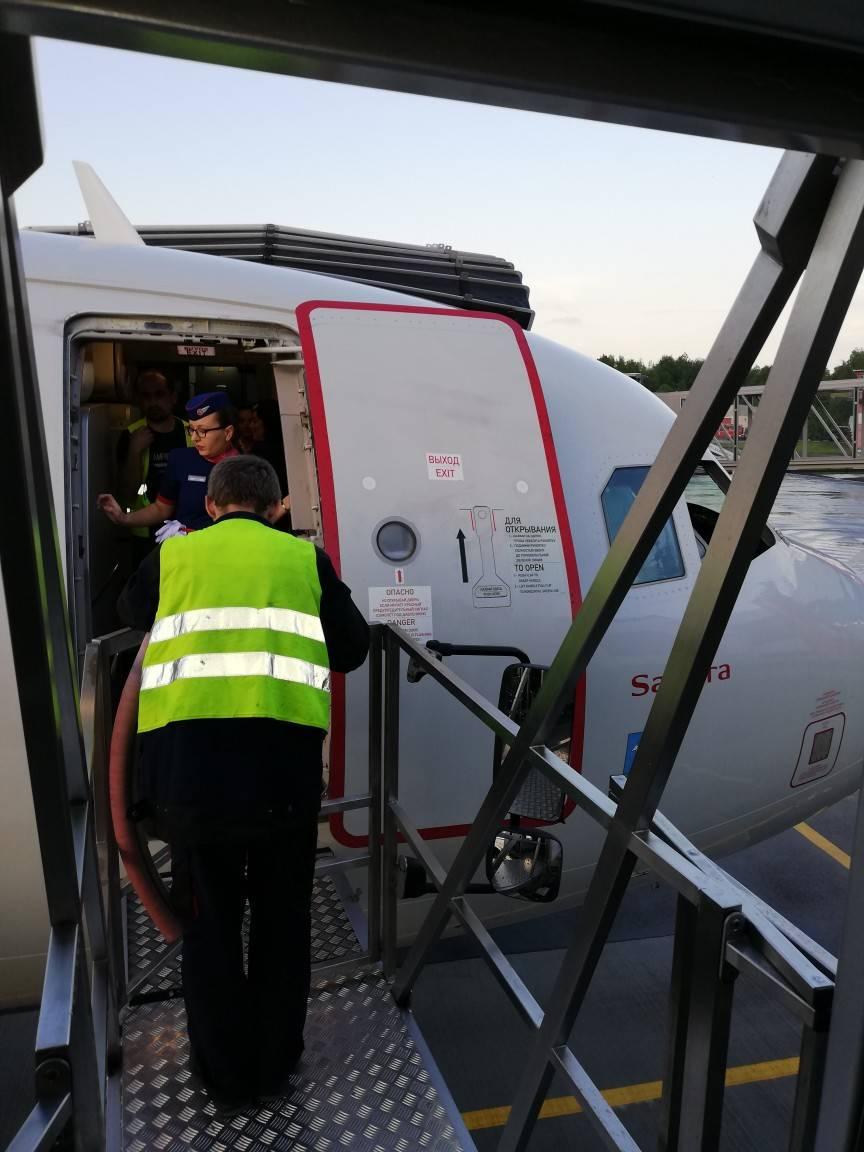 «Петербургская Неотложка» транспортировала пациента из Калининграда