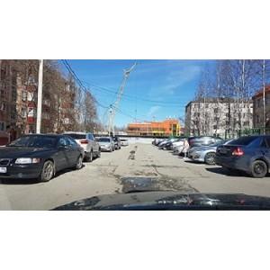 ОНФ в Югре проверил качество дорог в Нефтеюганске