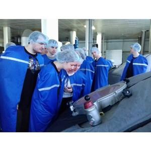 На «Тульском пивзаводе» прошел День открытых дверей для студентов ТулГУ
