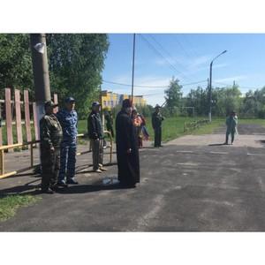 В Собинке сыграли в военно-спортивную игру «Зарница»