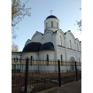 Храм Николая Чудотворца в Тушине будет сдан в эксплуатацию в июле 2019 года