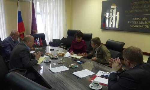 Рабочая встреча экспертов ассоциации «Афанасий Никитин» и финансово-промышленной группы Dalian Hesheng Holding Group, Ltd (КНР).