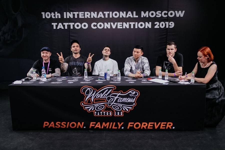 В Москве прошла 10 Международная тату конвенция