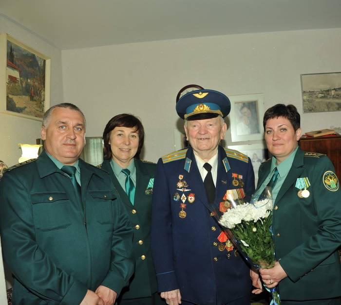 Встречая  День Победы