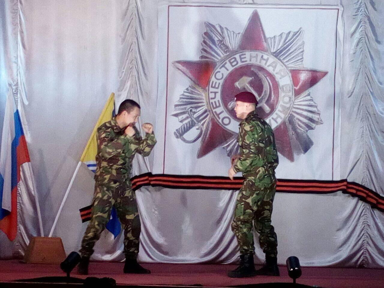 Росгвардия в числе почетных гостей на церемонии открытия патриотического клуба