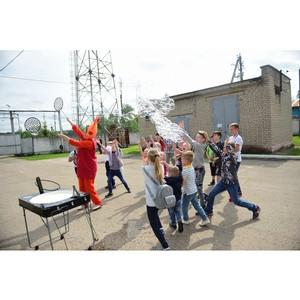 В филиале «Ивэнерго» состоялся веселый праздник для детей сотрудников