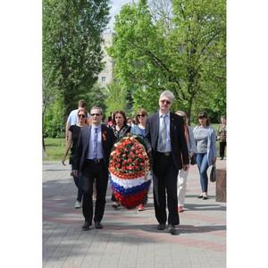 Сотрудники Воронежэнерго  приняли участие в мероприятиях, посвященных Дню памяти и скорби