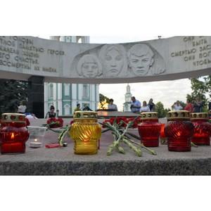 Сотрудники Тамбовэнерго почтили память погибших в Великой Отечественной войне