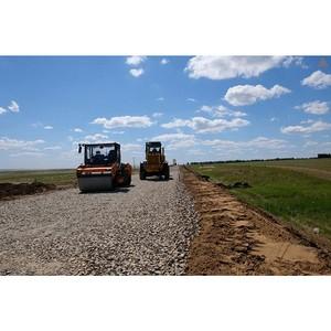 «УралАвтодор» ведет реконструкцию дорог в Октябрьском районе Челябинской области