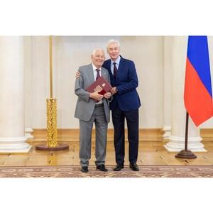 Рошаль награжден московской премией «Легенда века»