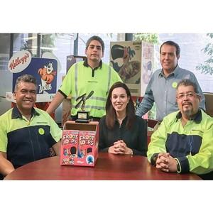 Smurfit Kappa удостоилась высшей награды от Kellogg's за инновации в Северной и Латинской Америке