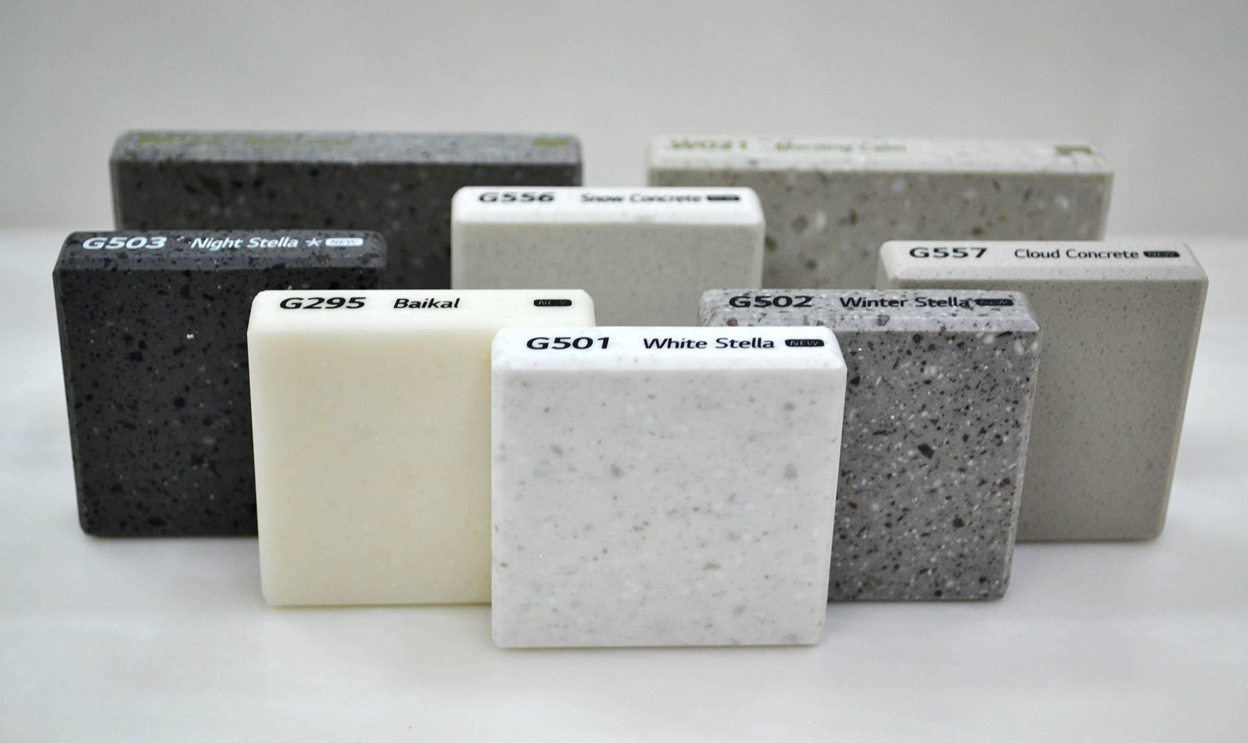 В компанию «Гермес» поступила новая коллекция искусственного камня Hi-Macs® (Хаймакс)