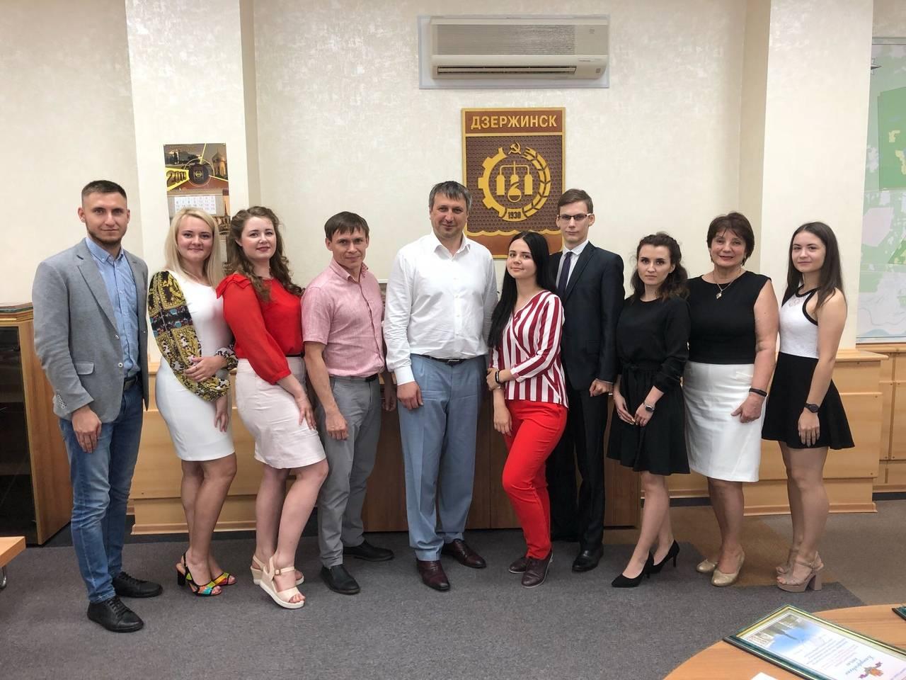 Студенты и сотрудники Дзержинского филиала РАНХиГС встретились с главой города Дзержинск