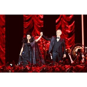 В Кремлевском дворце при поддержке Группы ПСН прошел гала-концерт Анны Нетребко и Андреа Бочелли