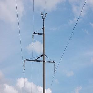Энергетики установили птицезащитные устройства на линии электропередачи