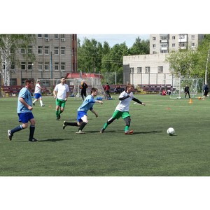В Удмуртэнерго прошло первенство по футболу среди энергетиков