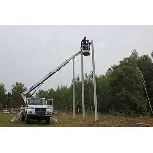 Филиал «Калугаэнерго» повышает надежность электросетевого комплекса Малоярославецкого района