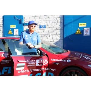 Калугаэнерго поддержал Международный автопробег на электрокарах «Ралли Мира-2019»