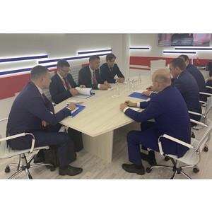 На ПМЭФ-2019 глава Тульской области и президент «Балтики» обсудили развитие пивоваренной отрасли