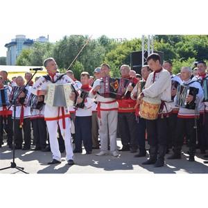 Конкурс «Играй, гармонь!» в Чувашии украсил праздник Акатуй