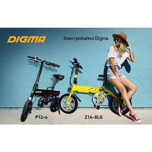 Электробайки Digma P12-4 и Digma Z14-8LG – заряжены на спорт
