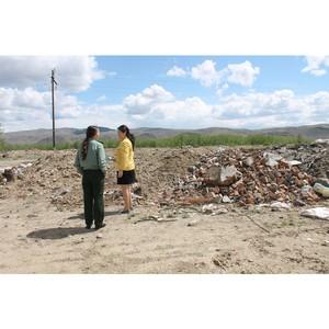 """ќЌ' в –еспублике """"ыва призвал муниципальные власти ликвидировать свалку бытовых, промышленных отходов"""