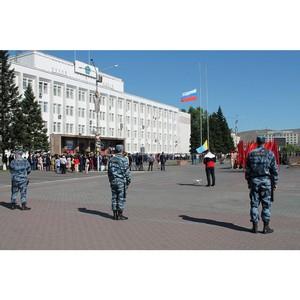В Туве прошли праздничные мероприятия, посвященные Дню России
