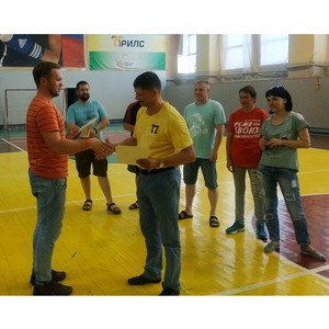 На Стойленском ГОКе прошли соревнования по настольному теннису