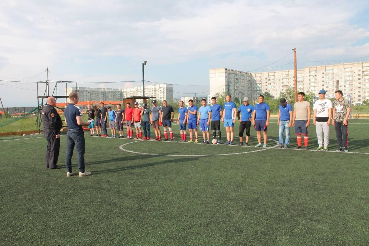 В Туве определили лучшую команду в мини-футболе среди подразделений ОВО по Республике Тыва