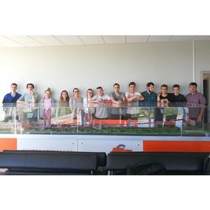 Будущие цементники побывали на экскурсии в Воронежском филиале «Евроцемент груп»