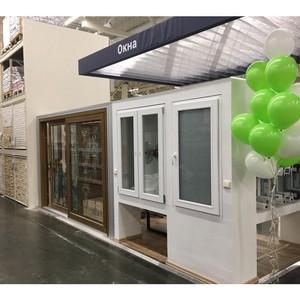 В «Леруа Мерлен» открылась первая в Сибири зона «Окна на заказ» с продуктами Deceuninck