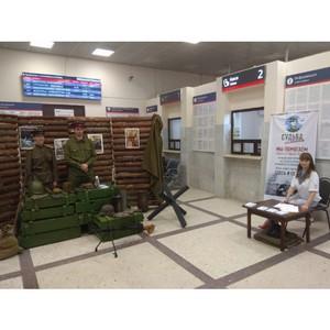 Активисты ОНФ в Волгоградской области организовали выставку в честь годовщины битвы за Сталинград