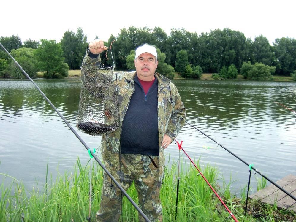 Работники «Липецкцемента» отметили День рыбака корпоративным уловом