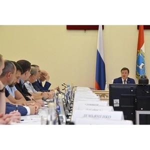 Губернатор Самарской области Дмитрий Азаров провел встречу с представителями пивоваренной отрасли