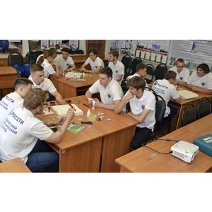Совет молодежи Тамбовэнерго ведет активную работу с бойцами студенческого отряда «Энергия»