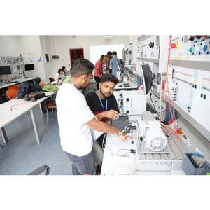 Учащиеся летнего университета выполнили лабораторные работы в технопарке