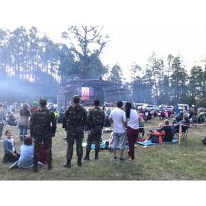 Росгвардейцы Тувы обеспечили безопасность граждан на международном фестивале «Устуу-Хурээ»