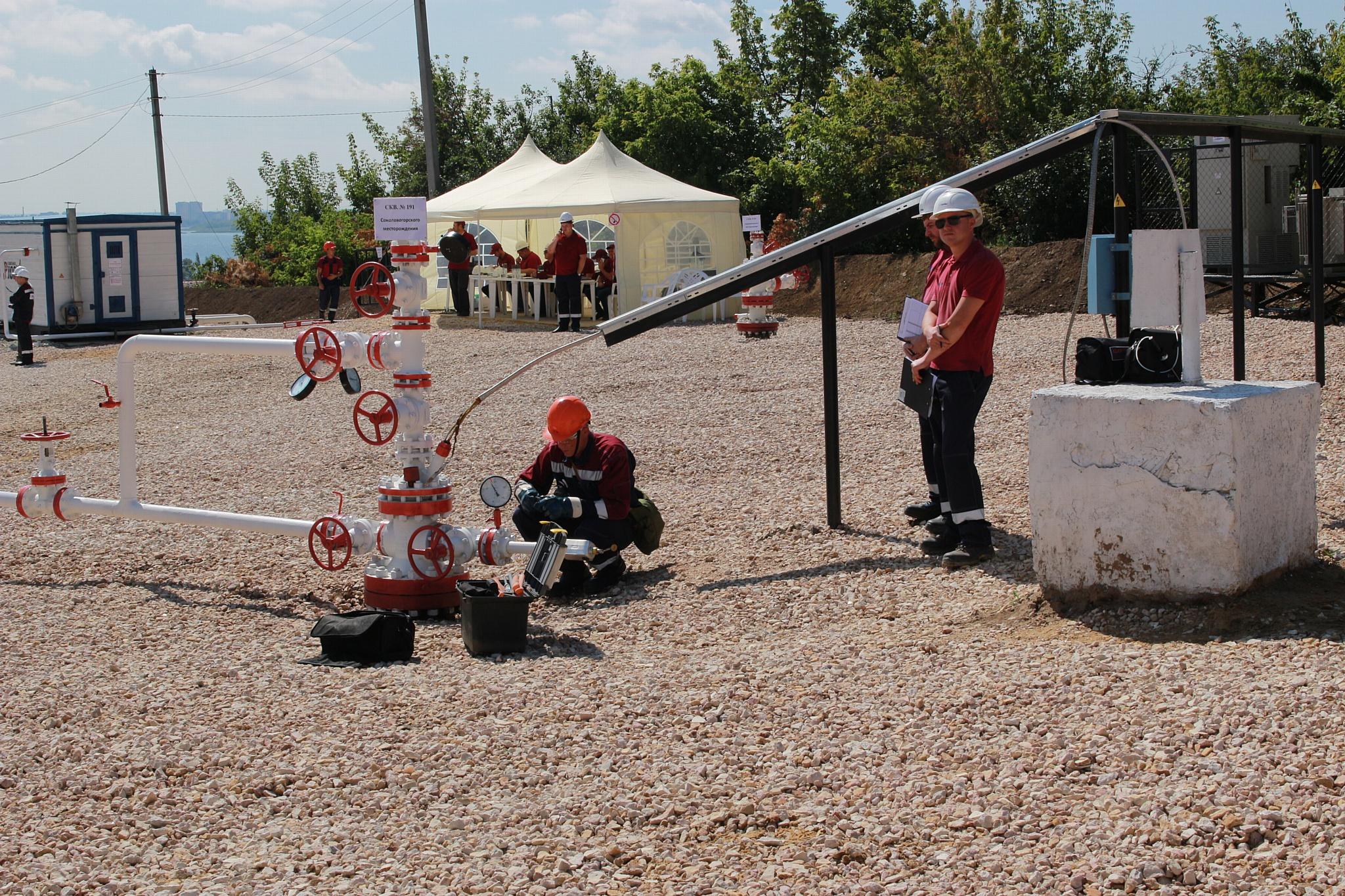 В «Саратовнефтегазе» состоялся смотр-конкурс профмастерства