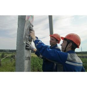Бойцы студотряда «Энергорегион 18» работают на объектах Удмуртэнерго