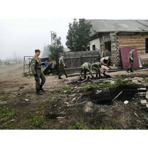 В Иркутской области с целью ликвидации последствий паводка введены дополнительные силы Росгвардии