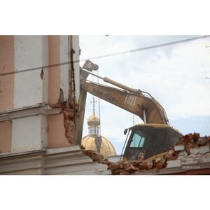 ОНФ предлагает внедрить в регионах технологию «умного» сноса зданий