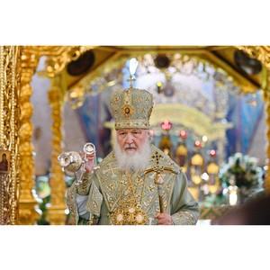 Кинокомпания «Союз Маринс Групп» приняла участие в Патриаршей службе в Троице-Сергиевой Лавре