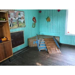 ОНФ просит власти ускорить ремонтные работы в Гирвасской школе для открытия нового детского сада