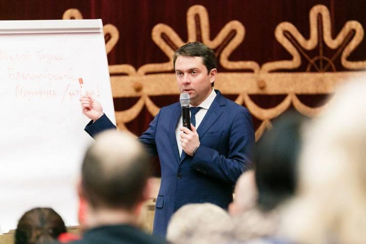 Андрей Чибис: Наша задача — сделать так, чтобы жить на Севере стало комфортно, интересно, престижно