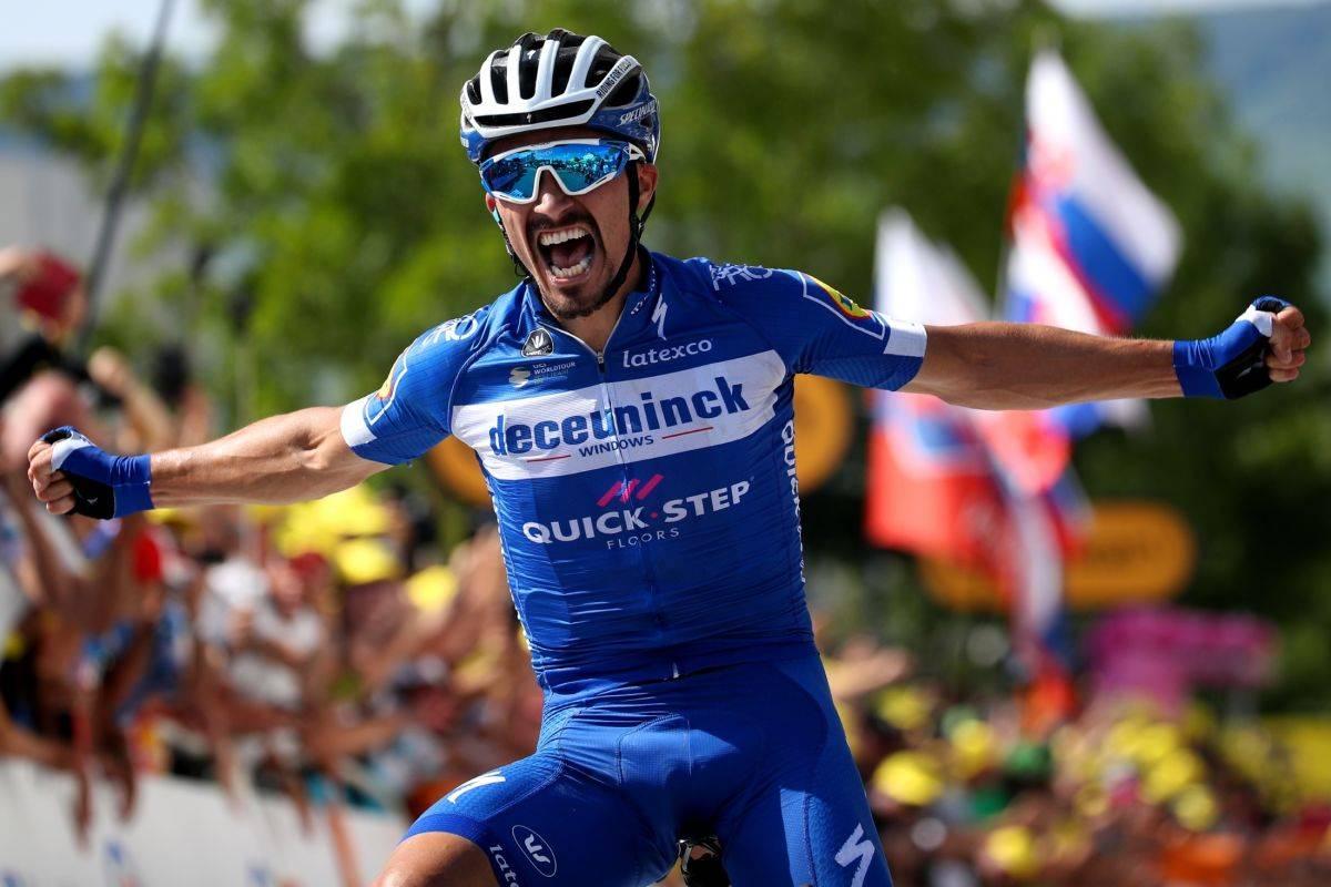 Велогонщик команды Deceuninck Quick-Step стал победителем 3-го этапа «Тур де Франс-2019»