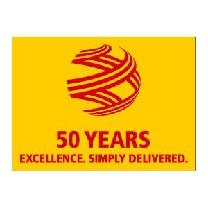Компания DHL отмечает 50-летие с момента основания