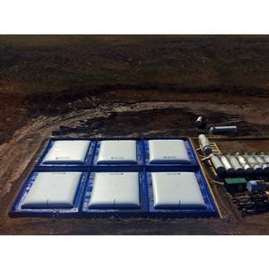 """Ќа """"аймыре установлена система хранени¤ топлива объемом 6750 кубических метров"""