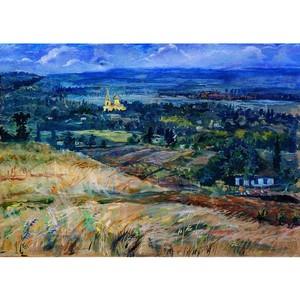 Выставка А. Л. Васильева в галерее Выставочного центра Санкт-Петербургского Союза художников